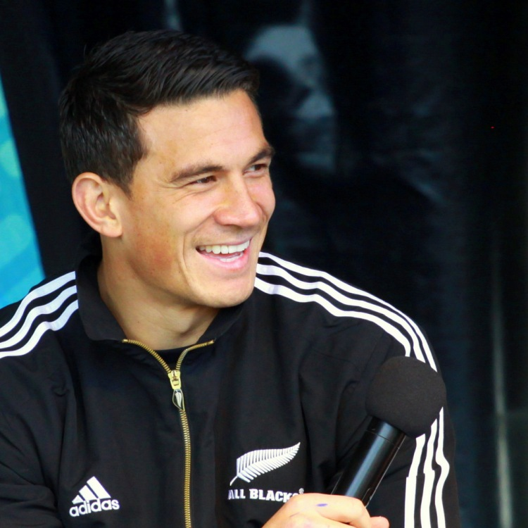 Sonny Bill Williams - Photo by Geoff Trotter