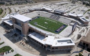 Eagle Stadium in Allan, Texas - Photo by Aerial Photography Inc