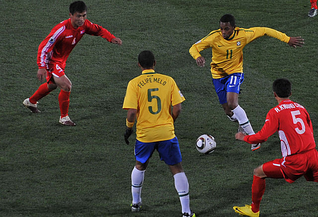 Brazil vs North Korea - Photo by Marcello Casal Jr - CC BY 3.0 BR