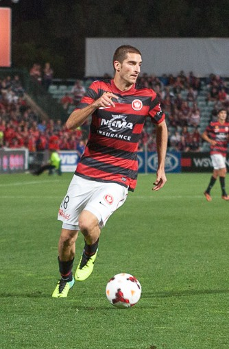 West Sydney Wanderers player Iacopa La Rocca