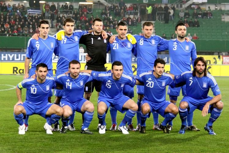 Greece National Football Team - Photos by Benutzer Steindy