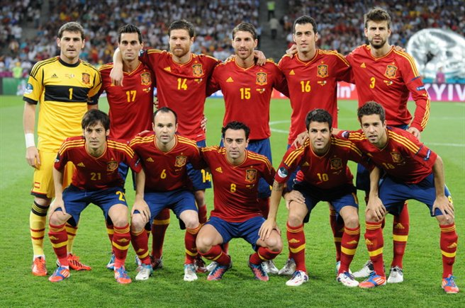 Spain National Football Team - Photo by Simo82 - CC-BY-SA-3.0