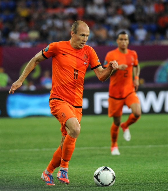 Arjen Robben - Photo by Dmitriy Neymyrok - CC-BY-SA-3.0