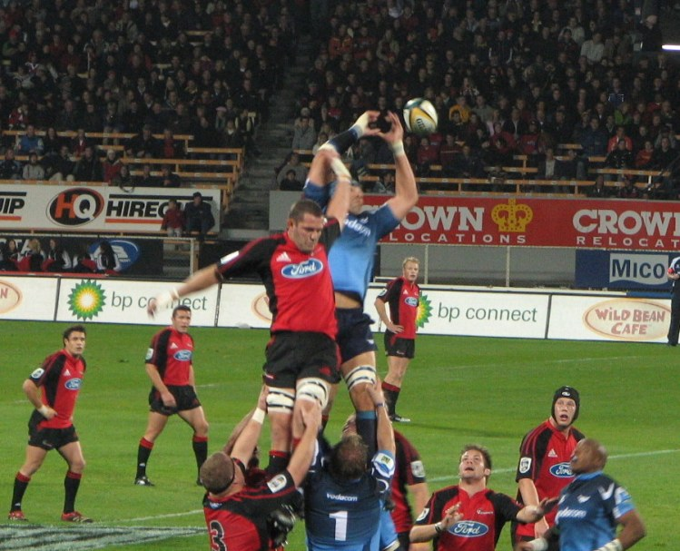Crusaders v Bulls - Photo by Maree Reveley - CC-BY-SA-2.5