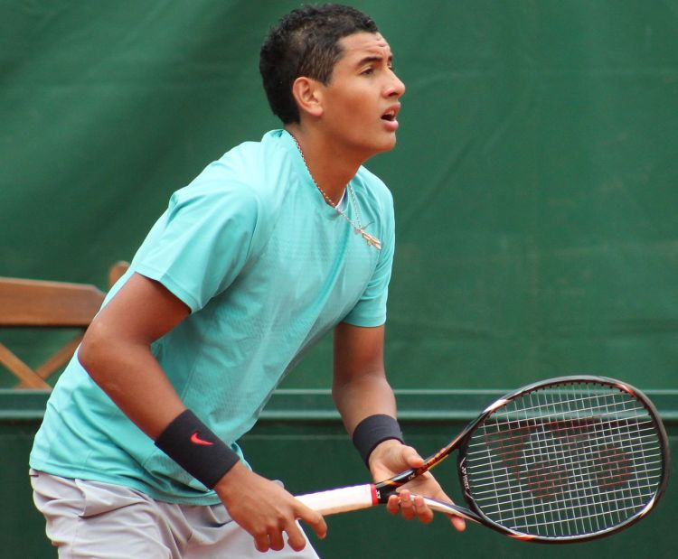 Nick Kyrgios (cropped) - Photo by Sirobi - CC-BY-SA-3.0