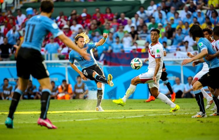 Uruguay vs Costa Rica - Photo by Danilo Borges - CC-BY-SA-3.0-BR