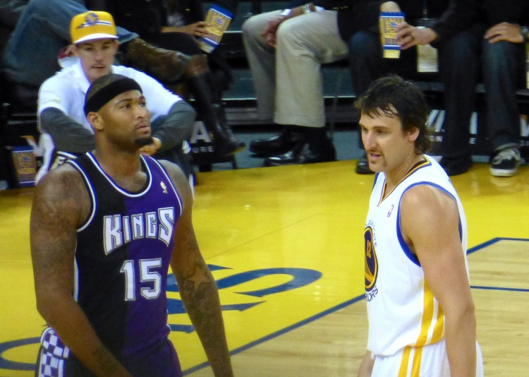Itty Bitty Fu Manchu Bogut is my favourite Bogut - Photo by Matthew Addle - CC-BY-2.0