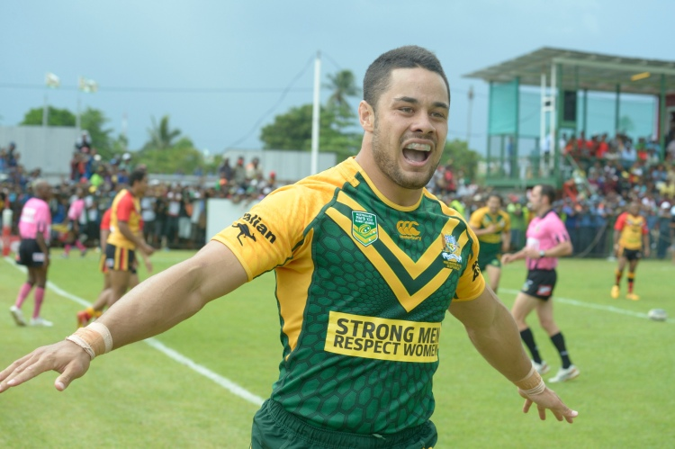 Jarryd Hayne - Photo by Department of Foreign Affairs, Commonwealth Government - CC-BY-2.0