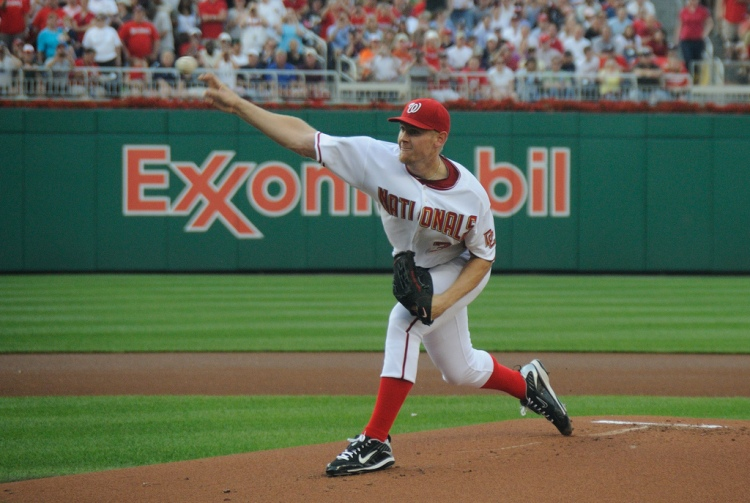 Stephen Strasburg - Photo by Scott Ableman - CC-BY-NC-ND-2.0