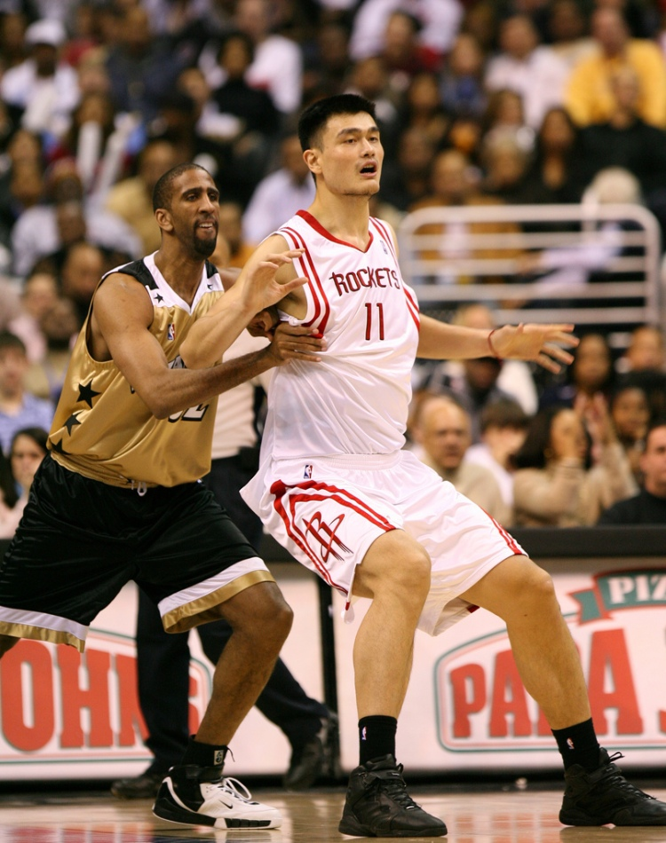 Yao Ming - Photo by Keith Allison - CC-BY-SA-2.0