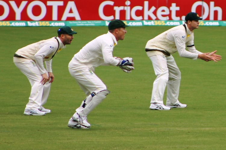 Australian Test Cricket - Photo by Mertle - CC-BY-2.0