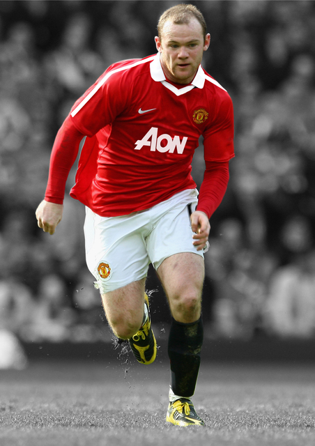 Wayne Rooney - Photo by James Kieran Nguyen - CC-BY-NC-2.0