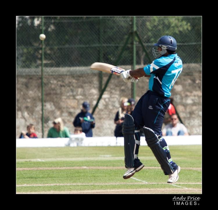 Majid Haq - Scotland v England ODI - Photo by Andy Price - CC-BY-NC-SA-2.0