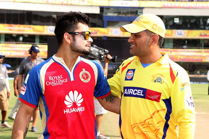 Virat Kohli and MS Dhoni - CC-BY-NC-SA-2.0
