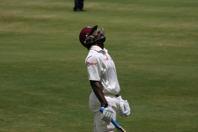 Chris Gayle - Photo by Phil Schwan - CC-BY-NC-SA