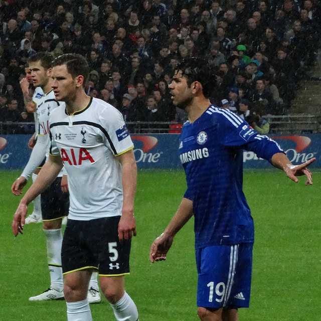 Chelsea vs Tottenham Capital One Cup - Photo by @cfcunofficial - CC-BY-SA-2.0