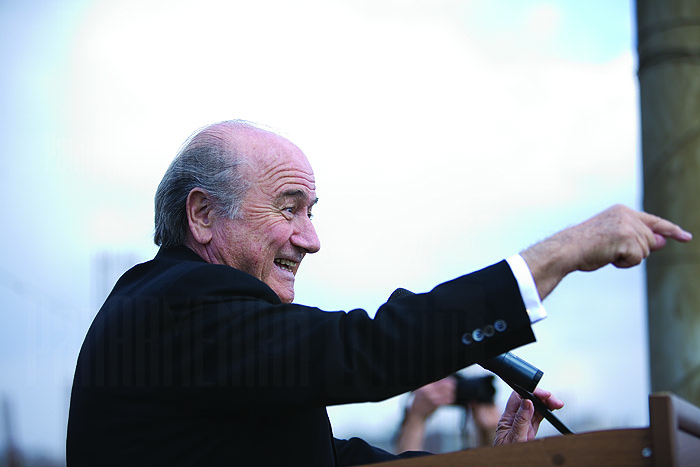 Sepp Blatter - Photo by PAN - CC-BY-NC-ND-2.0