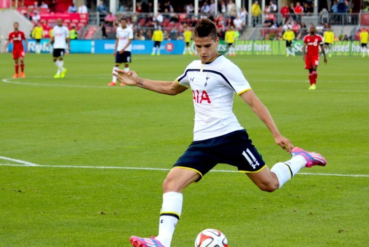 Erik Lamela - Photo by Amil Delic - CC-BY-NC-2.0