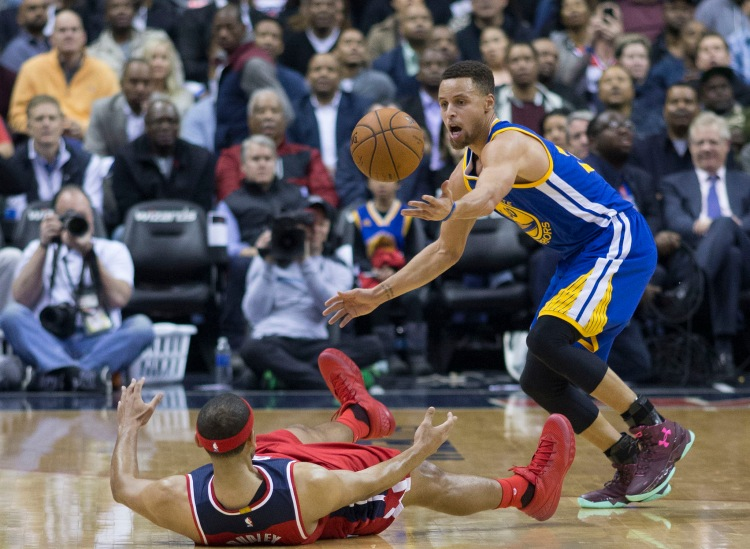 Stephen Curry - Not of this World - Photo by Keith Allison - CC-BY-SA-2.0