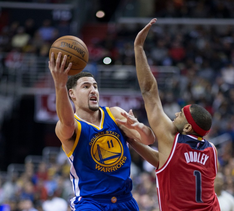 Klay Thompson - Photo by Keith Allison - CC-BY-SA-2.0
