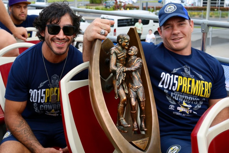JT and Thumper - Better Days - Image courtesy of the North Queensland Cowboys - CC-BY-SA 2.0