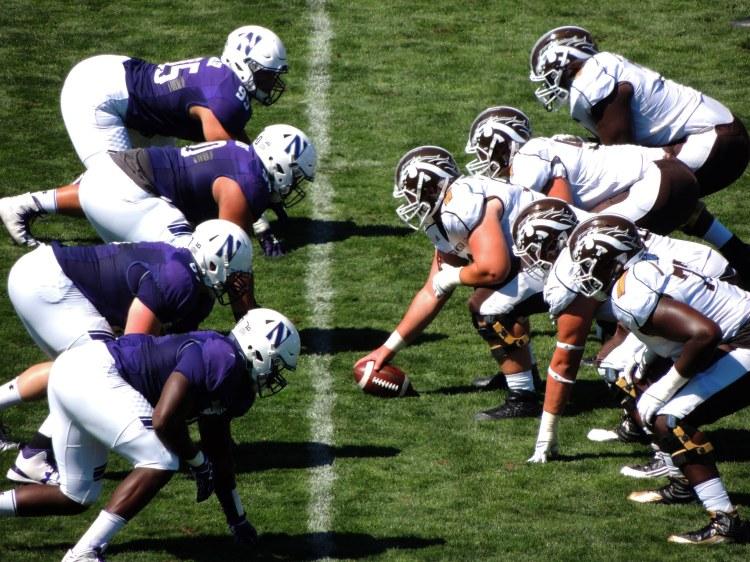 Northwestern Wildcats vs Western Michigan Broncos - Photo by John W. Iwanski - CC-BY-NC 2.0
