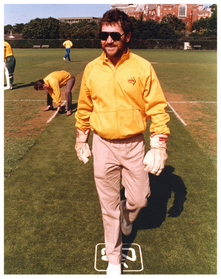 Allan Border - Photo by Archives New Zealand - CC-BY-SA 2.0