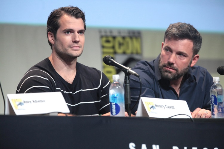 Henry Cavill and Ben Affleck - Photo by Gage Skidmore - CC-BY-SA 2.0
